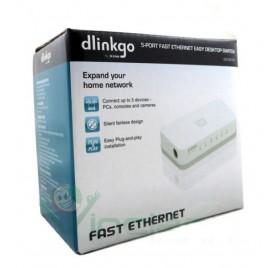 D-Link 5-Port Fast Ethernet Desktop Switch
